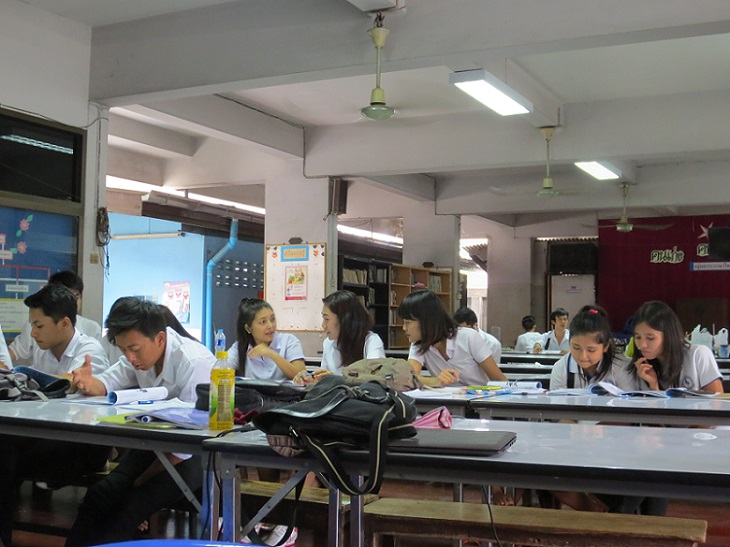 Students in the classroom at DEAR Burma. Photo by Sarah Hucal
