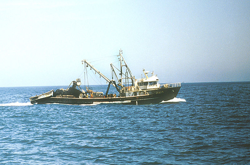 A Peruvian purse seiner. Photo by Teobaldo Dioses Courtesy of NOAA