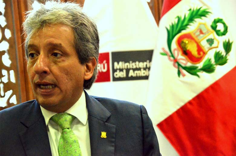 Peru's Minister of the Environment Manuel Pulgar-Vidal. He hosted COP20 in Peru and will play an important role preparing for COP21 in Paris this December. Photo by Emilia Catanoso