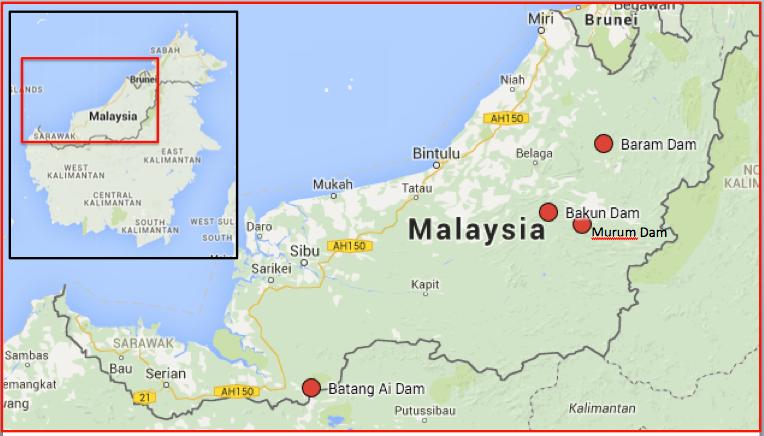 Indigenous antidam activists converge in Sarawak from around the globe