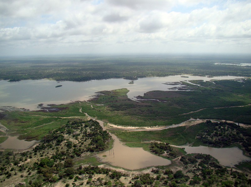 Mining concessions, such as those for uranium mining, have resulted in downsizing of Selous game reserve in Tanzania. Photo from Wikimedia commons.