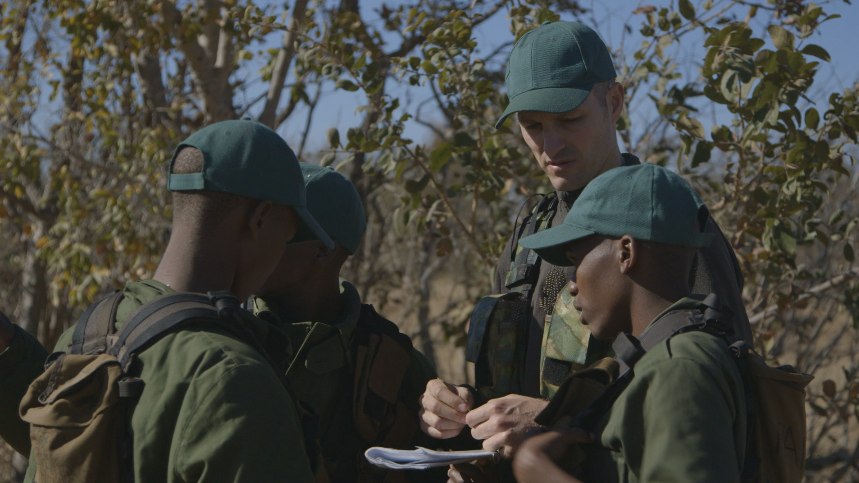 Rhino monitor trainees at Nkwe Security Services