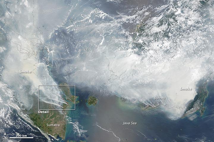 NASA image by Adam Voiland (NASA Earth Observatory) and Jeff Schmaltz (LANCE MODIS Rapid Response).