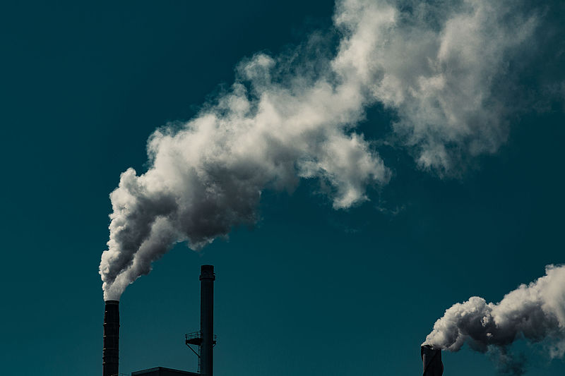 Carbon emissions largely continue unabated, with China and the US the biggest producers currently. Photo by Tony Webster licensed under the Creative Commons Attribution-Share Alike 2.0 Generic license