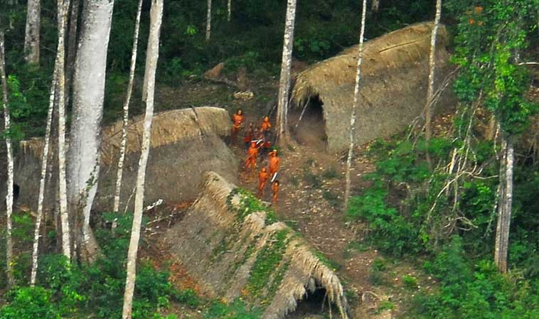 The uncontacted indigenous people of Amazonia have as much to lose to traffickers as do the region's wildlife. Photo by Gleilson Miranda / Governo do Acre licensed under the Creative Commons Attribution 2.0 Generic license.