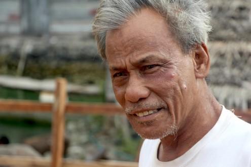 Harun, a senior member of the Bajau community in Wakatobi. Photo by Melati Kaye