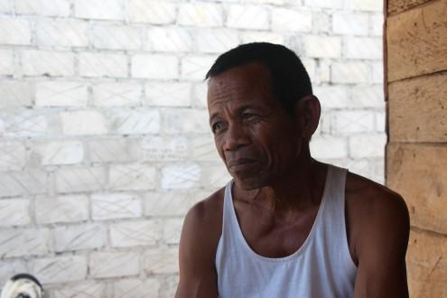 La Ode Samoane, an elder in the Wakatobi village of Sumbano. Photo by Melati Kaye