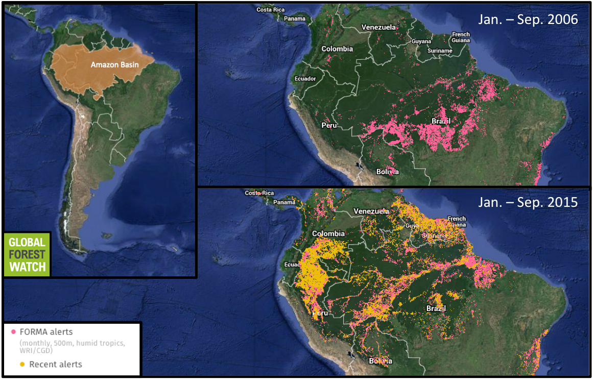 Increased deforestation in the Amazon could mean far less ...