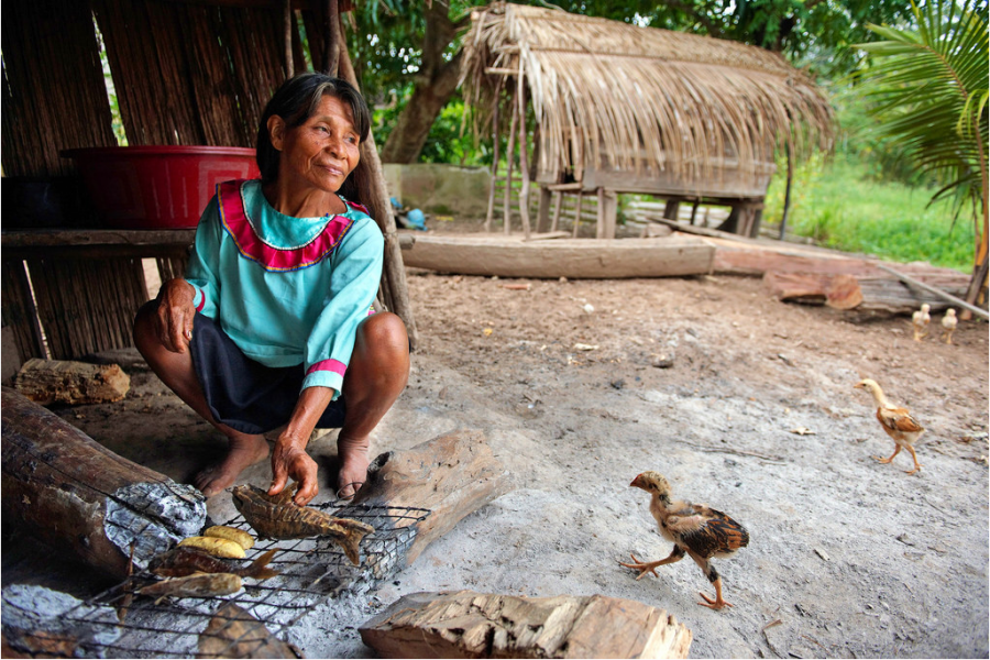Areas around the Sierra del Divisor are home to several indigenous groups, including the Matses and Shipibo-Conibo peoples. At least one uncontacted tribe lives inside the new national park. Photo by Thomas Muler.