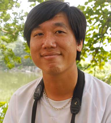 Yu Yat-tung, of the Hong Kong Bird Watching Society, is responsible for the international annual Black-faced Spoonbill census. Photo by Doug Meigs