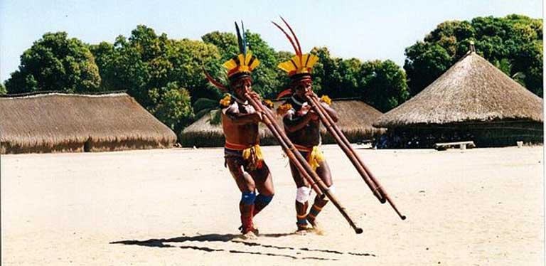 Brazil's Public Federal Ministry charged the Brazilian federal government and the Norte Energia construction company with committing ethnocide against indigenous groups living along the Xingu River during the building of the Belo Monte dam. Photo courtesy of Wikipedia under the terms of the GNU Free Documentation License, Version 1.2