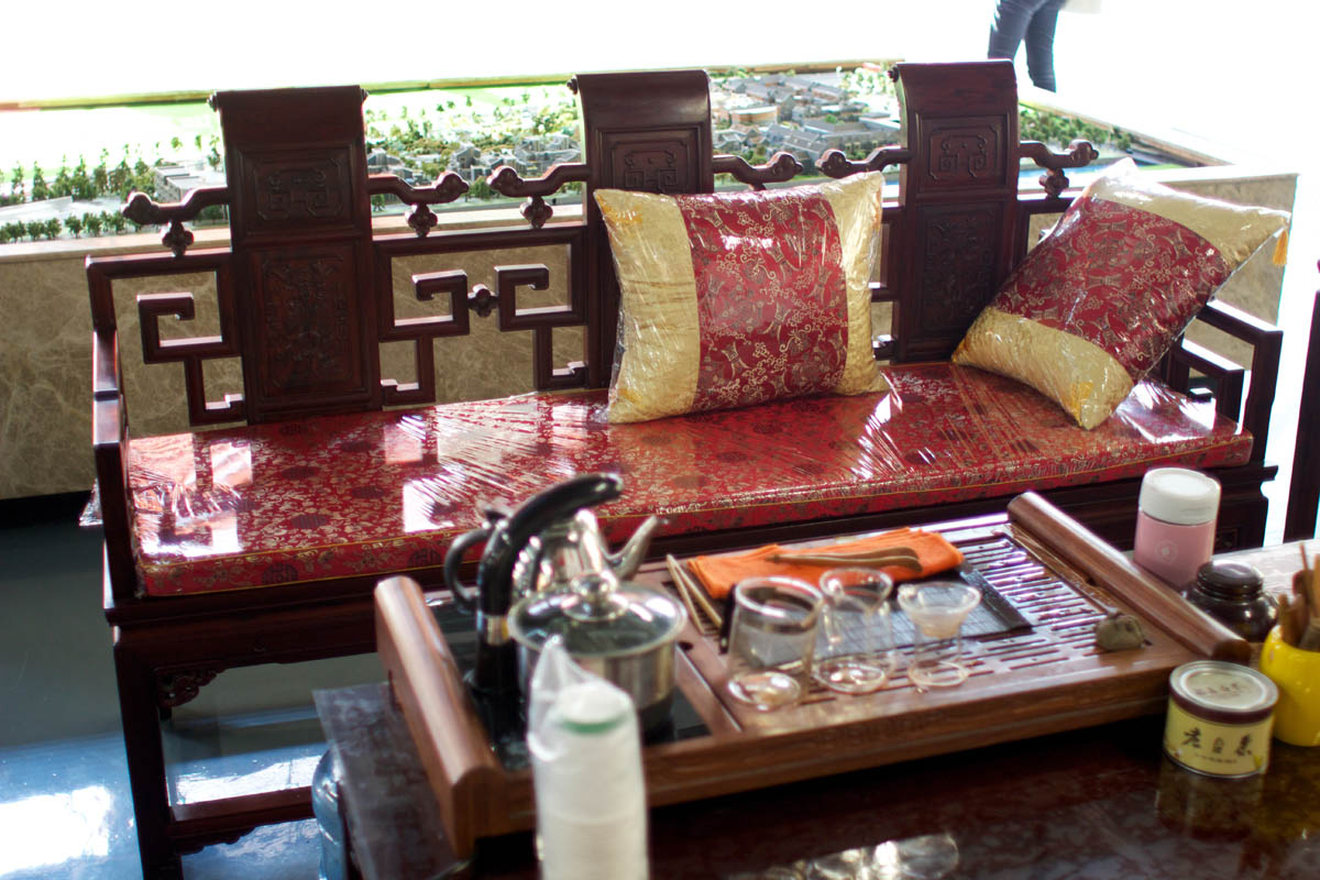 An Example Of Hongmu Furniture. Photo By Eve Richer / Forest Trends.
