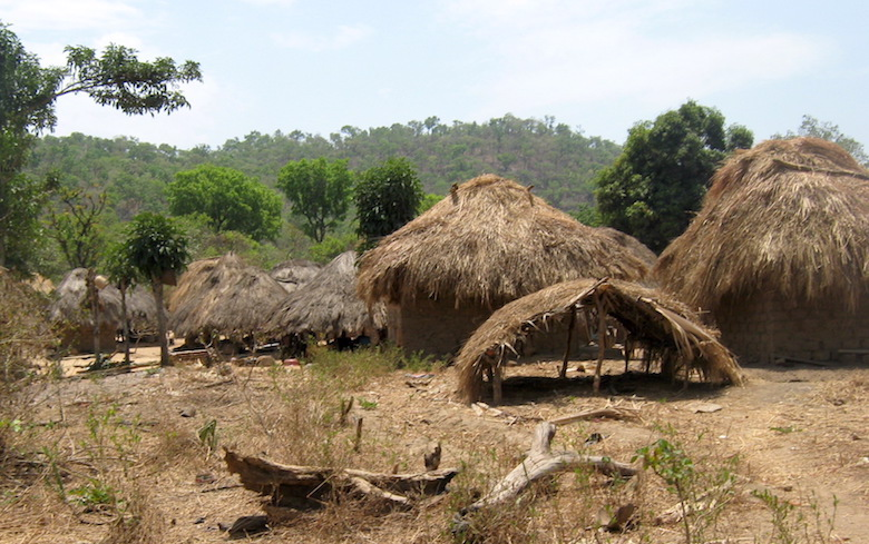 A homestead in one of the communities inside Gashaka-Gumti National Park. Photo by Lawal Sani Kona.