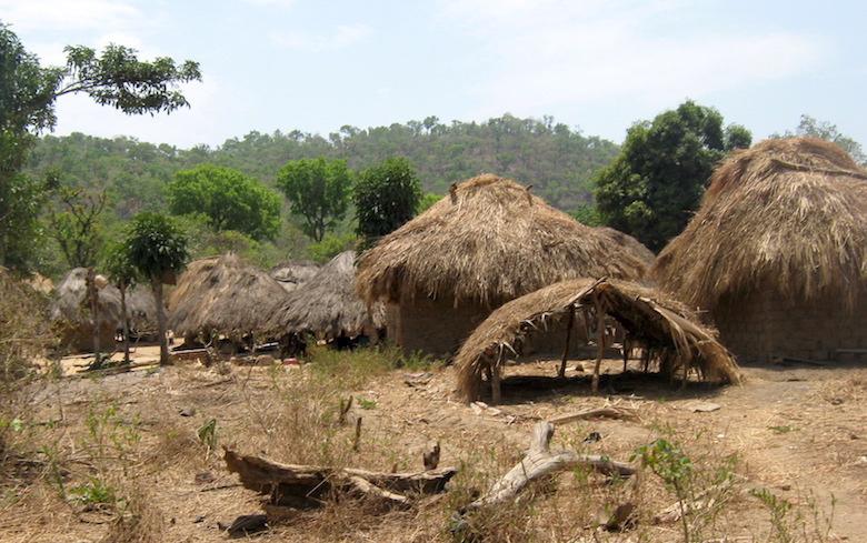 A homestead in one of the communities inside Gashaka-Gumti National Park. Photo by Lawal Sani Kona.