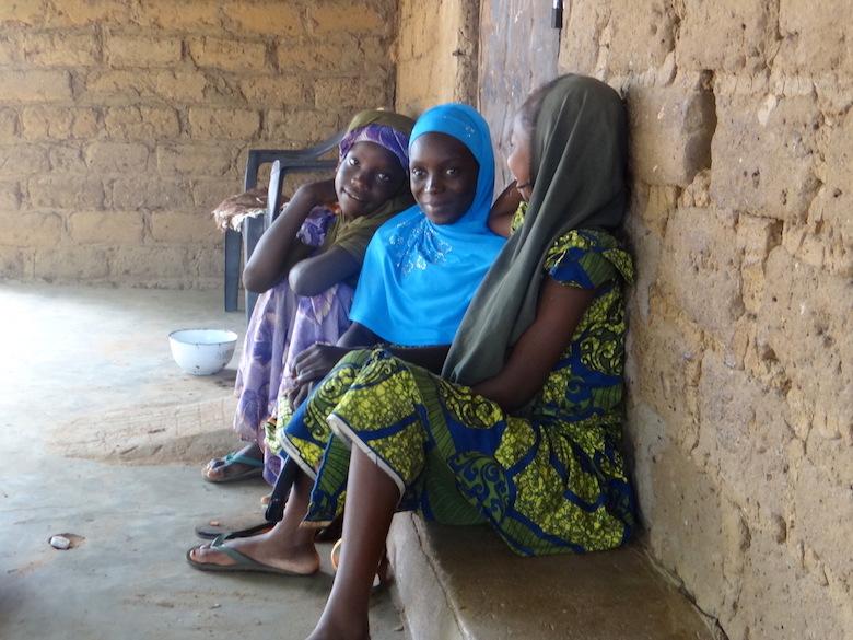 Girls from Gashaka Village inside Gashaka-Gumti National Park. Photo by Lawal Sani Kona.