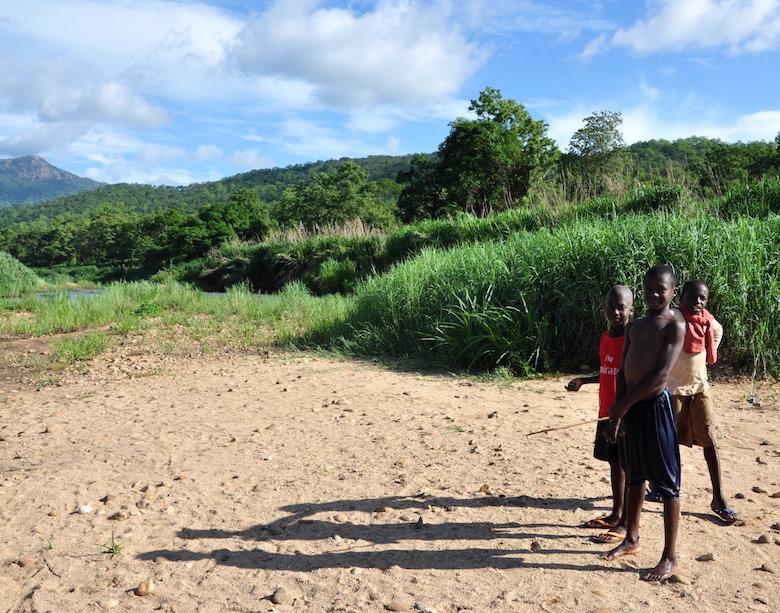 Children living in Gashaka-Gumti National Park. Photo by Lawal Sani Kona.