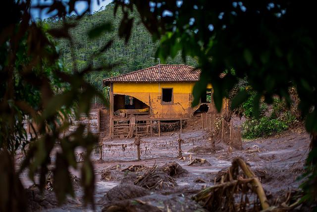 House along the Doce River. Photo courtesy of Victor Moriyama/Greenpeace.