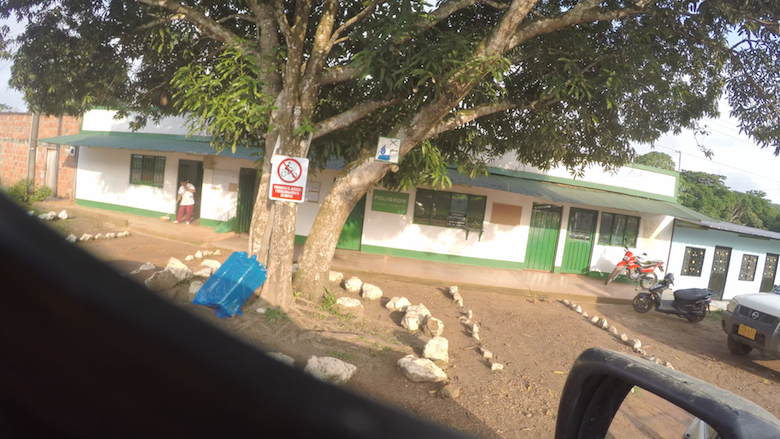 Poligrow's main office in Mapiripán. Photo courtesy of the Environmental Investigation Agency.