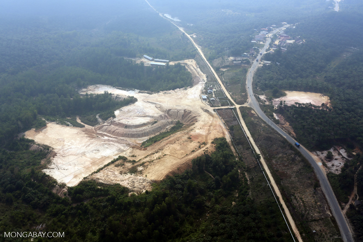 A mine in Sumatra. Photo by Rhett A. Butler