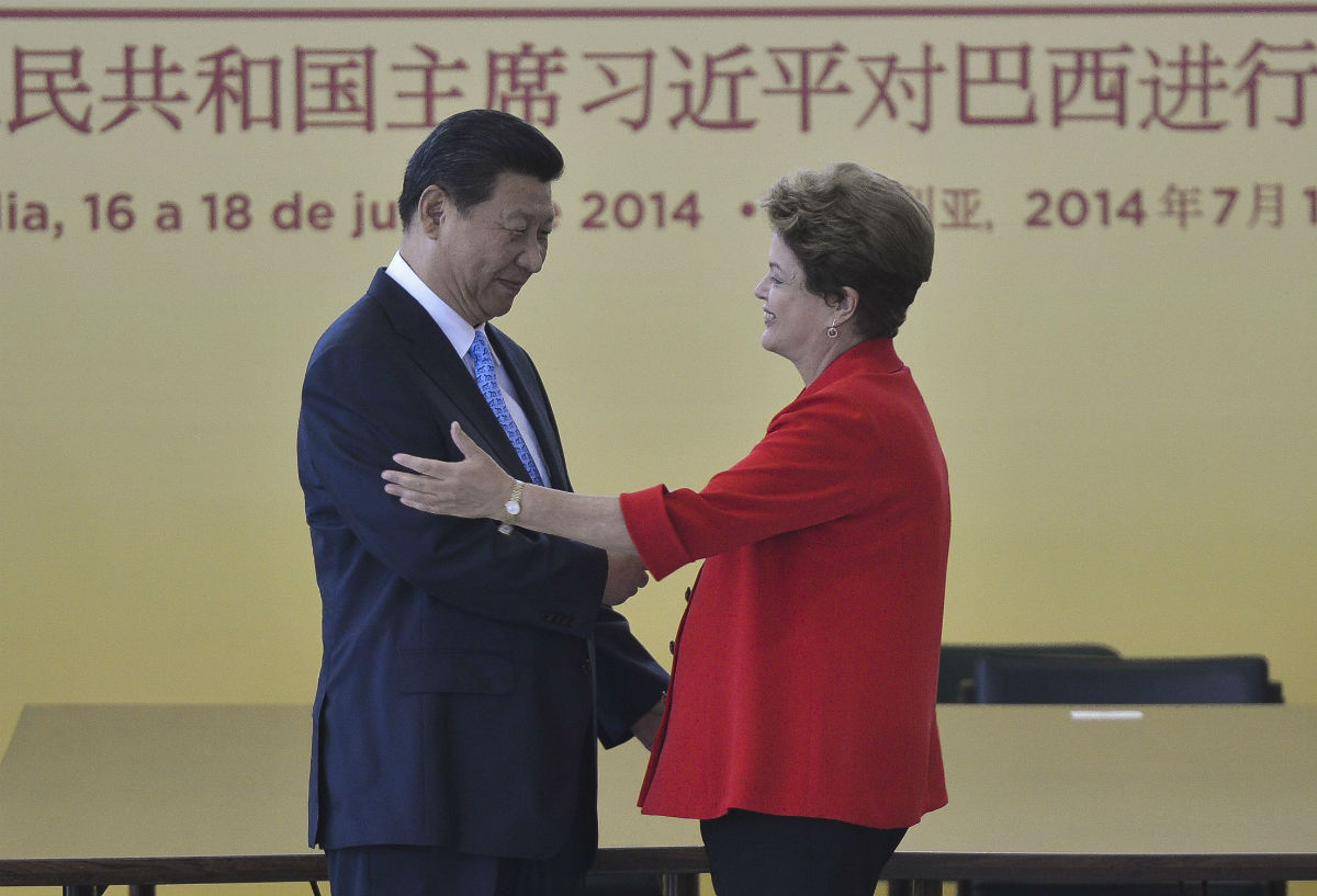 The agreement between Electrobras-Furnas and China Three Gorges was reached during the visit to Brazil of the Chinese President Xi Jinping, seen here with Brazilian President Dilma Rousseff. In recent months, Rousseff has been threatened with impeachment due to ongoing Brazilian corruption scandals. Photo courtesy of Agência Brasil