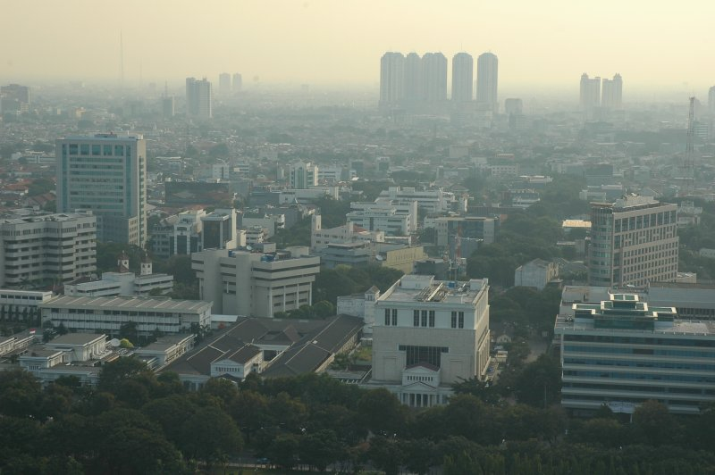 A view of West Jakarta. Photo courtesy of Jpatokal/Wikimedia Commons