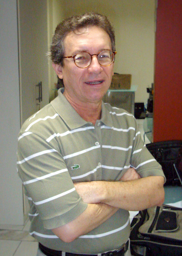 Lúcio Flávio Pinto in 2013. Photo courtesy of Lúcio Flávio Pinto.