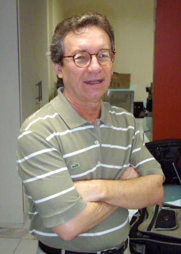 Lúcio Flávio Pinto in 2013. Photo courtesy of Lúcio Flávio Pinto.