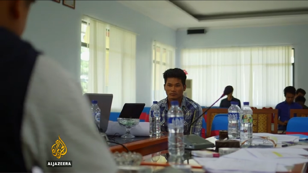 This Burmese man accepted a payment from his former captors so he could go home.