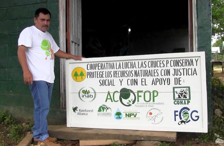 Environmental and community activist Walter Manfredo Méndez Barrios was killed on March 16 in northern Guatemala. Photo courtesy of ACOFOP.