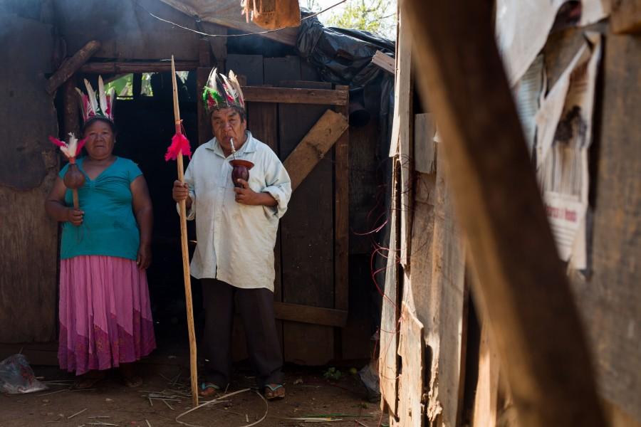 Miguel Nascimento, spiritual leader of the Condá tribe. Photo courtesy of Mauro Pimentel.