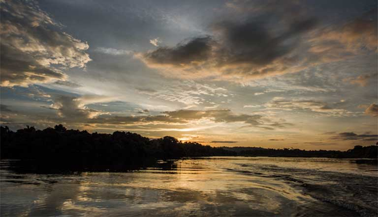 The Iriri River flows through one of the most remote parts of the Amazon basin. Photo by Mauricio Torres