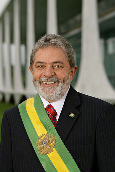 Luíz Inácio Lula da Silva, Brazil's President from 2003 – 2011. He used the BNDES to make huge loans to Brazilian construction companies for new infrastructure projects in the Amazon and across South America. Last week he was detained and his home raided by Lava Jato investigators. No charges have been filed to date. Photo courtesy of Agência Brasil.