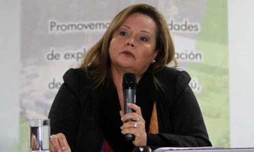 Rosa María Ortíz, Minister of Energy and Mines. Photo: El Comercio
