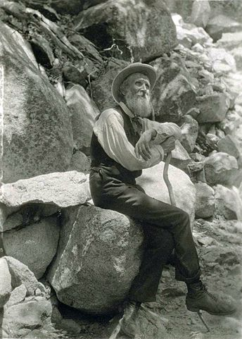 John Muir, 1907. Photo courtesy of Wikimedia Commons.