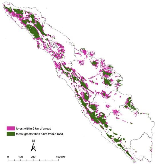 Sumatra, the world's sixth-largest island. Image courtesy of Bert Harris