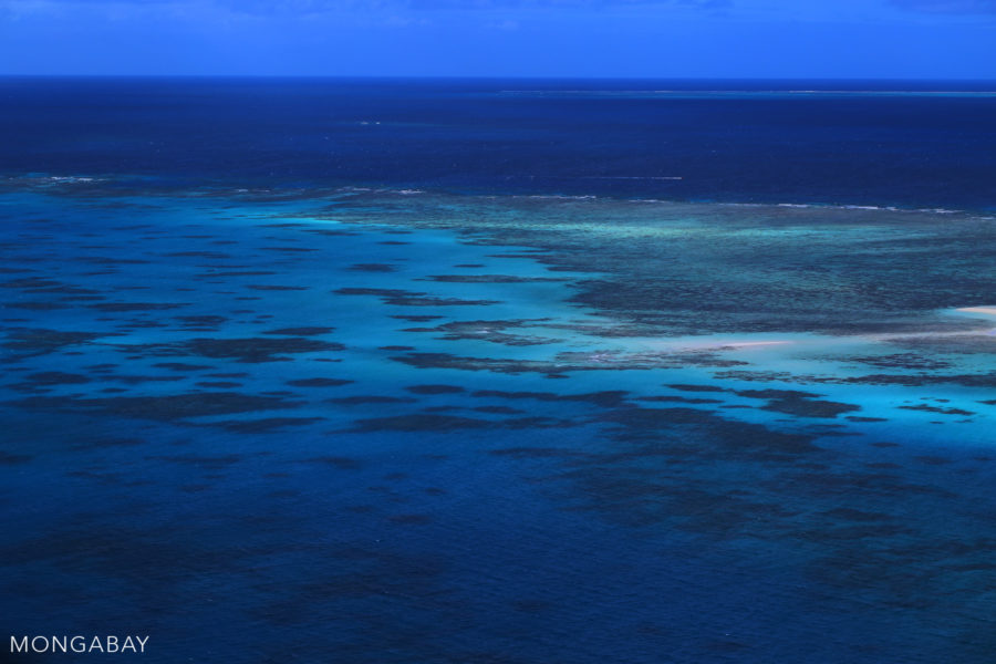 The Great Barrier Reef is the world's largest coal reef. However Australia also has species-rich reefs on its western coast. Photo by Rhett A. Butler.