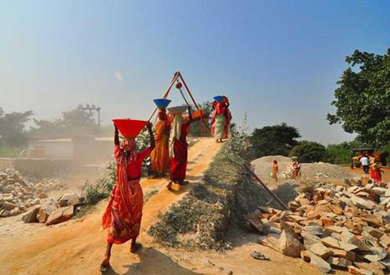 Mysore, India, Cements Limited Portland Slag Cement CDM project. Photo by Jaydip Bhattacharya, CDM photo contest winner