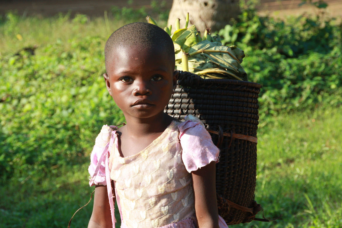 A child in the DRC. Photo by Kjersti Lindøe/Norad.
