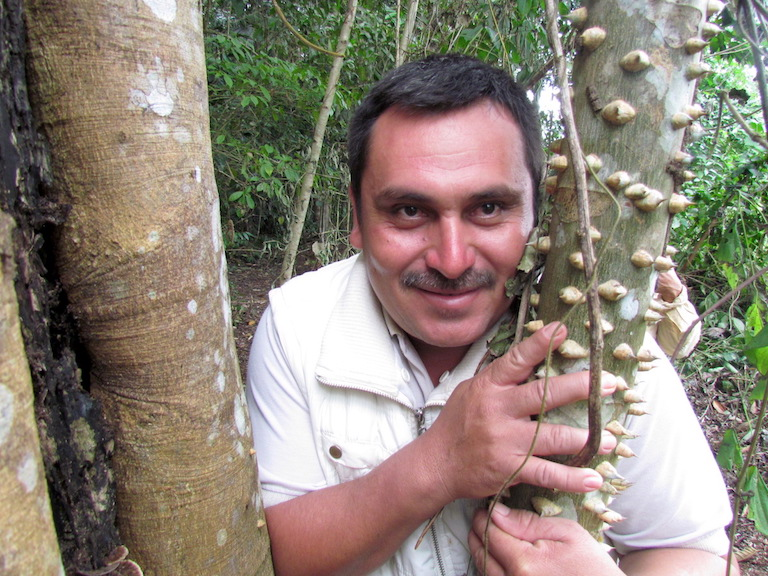 Walter Manfredo Méndez Barrios, an environmental activist and community leader in Guatemala's Maya Biosphere Reserve, was murdered on March 16, 2016. Photo courtesy of Defensores de la Naturaleza.