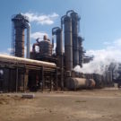 Part of the Green Fuel ethanol plant in Chisumbanje, Zimbabwe. Photo by Kenneth Matimaire.