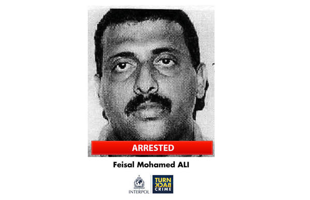 Interpol had placed Mohammed on a list of nine most-wanted suspects linked to crimes against the environment. Image courtesy of Interpol.