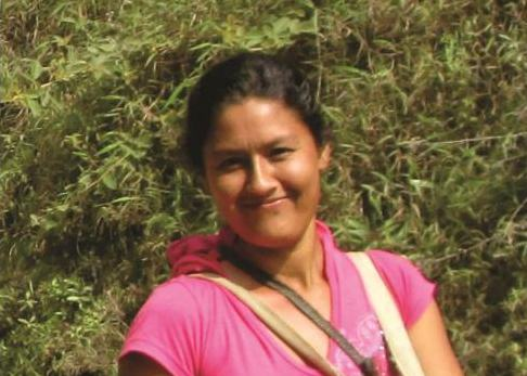 Adelina Gómez Gaviria, an anti-mining activist in the Colombian department of Cauca, was killed in 2013. Photo courtesy of Movimiento Nacional de Víctimas de Crímenes de Estado.