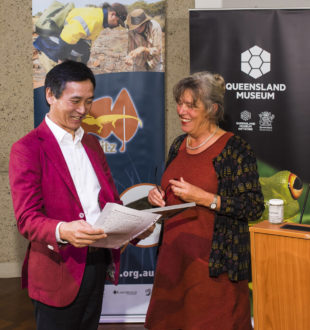 Li Cunxin and Barbara Baehr