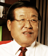 Seung Eun-ho is chairman and CEO of the Korindo Group, founded by his father.