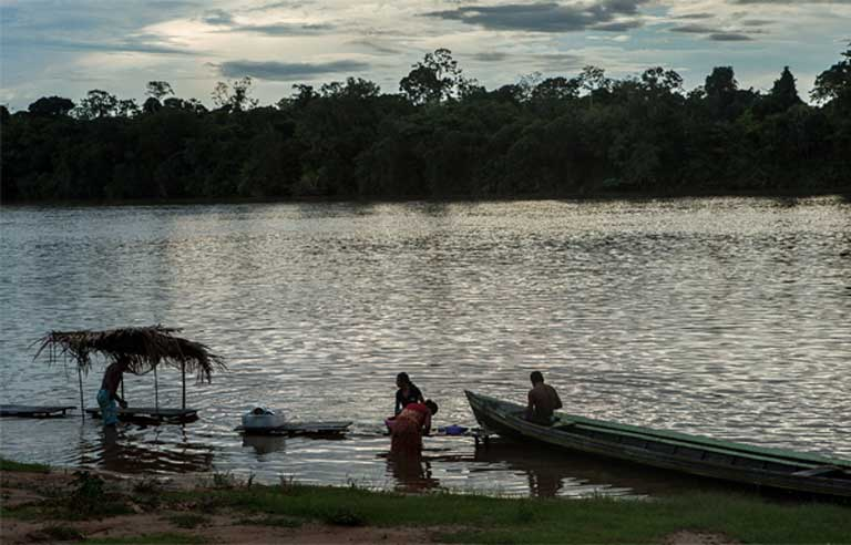 Scientists and fishermen who depend on the river for their livelihoods, worry that the dam will seriously diminish commercially valuable fish including the piau, pirarucu, tambaqui, curimatã, pacu, mapará, and branquinho. Photo by Lilo Clareto/Repórter Brasil