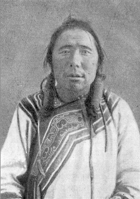 An Udegi man. Image courtesy of Indiana University Press