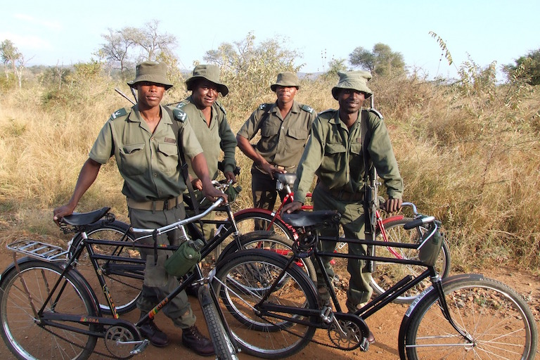 Park rangers in South Africa's Kruger National park. Photo by Ptera via Pixabay (CC0)