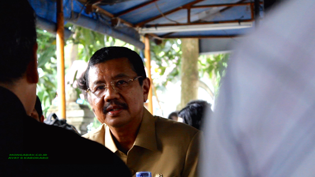 North Sumatra Governor Tengku Erry Nuradi. Photo by Ayat S. Karokaro