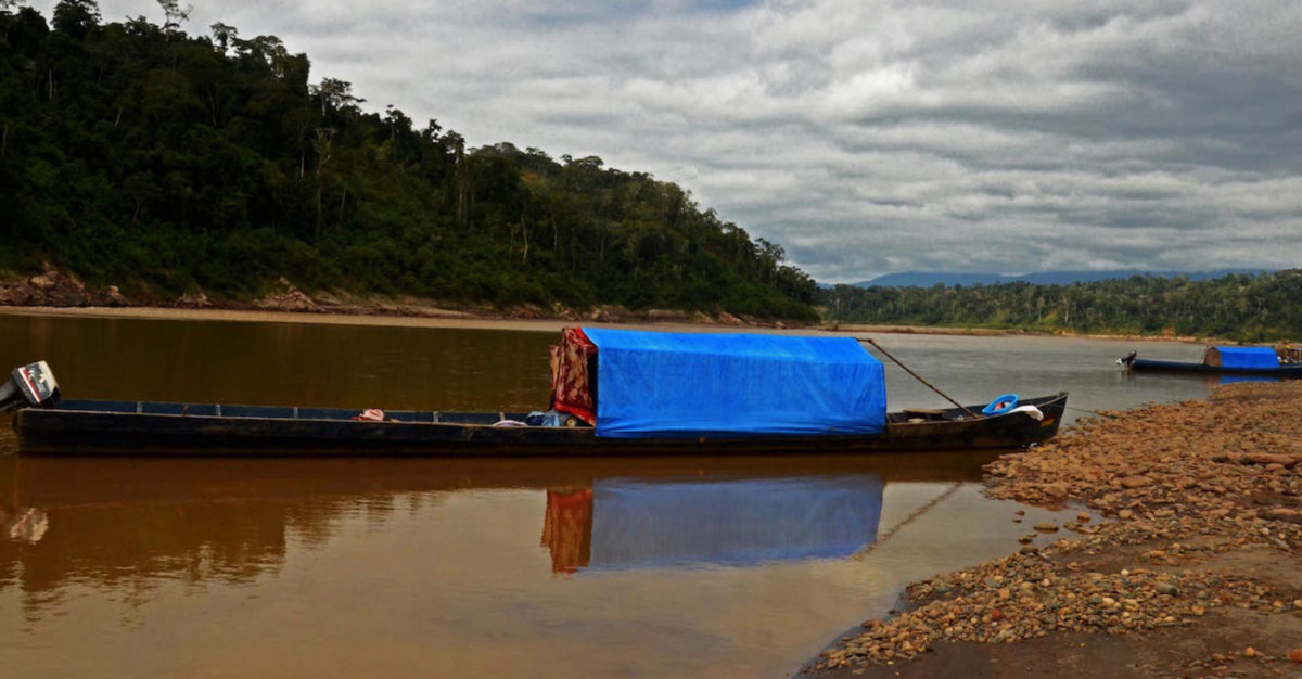 boats-of-illegal-miners-in-bolivia