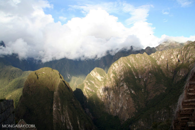 Mountains near Machu Picchu in Peru. Photo by Rhett A. Butler